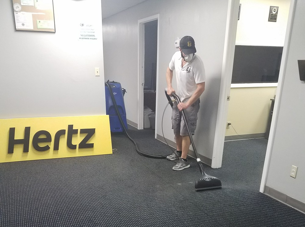 Why Keeping Your Office Carpet Clean is Important